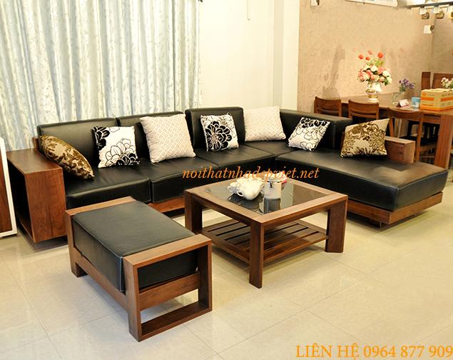 Sofa Gỗ Phòng Khách Hiện đại SF01