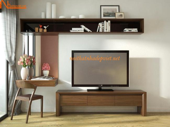 Hệ Kệ Tivi Kết Hợp Bàn Phấn Trang điểm KTV05