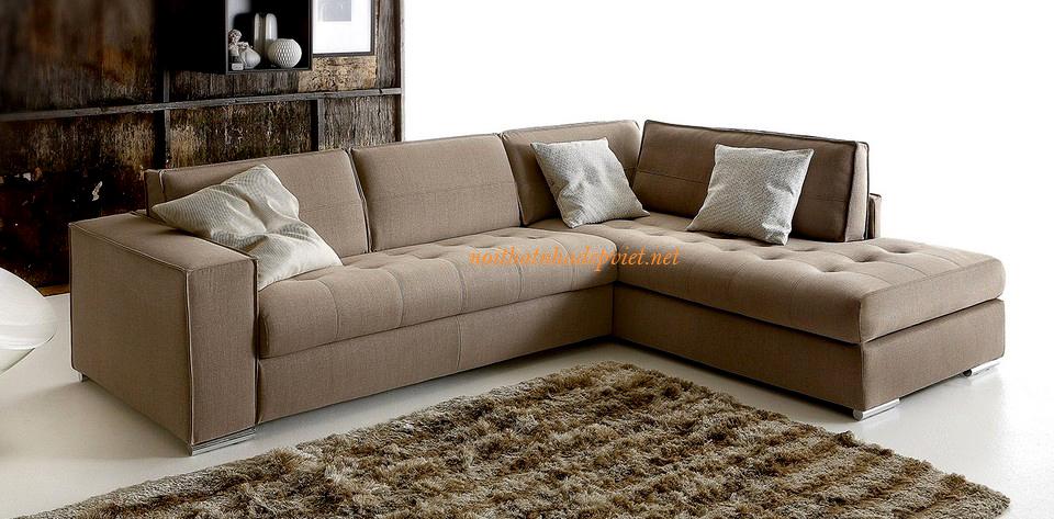 Ghế Sofa Nỉ đẹp Cho Phòng Khách Nhỏ SFN11