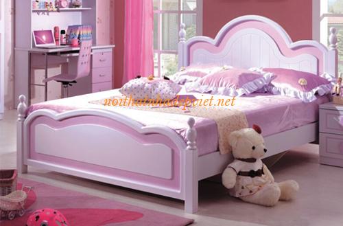 Mẫu Giường Ngủ Công Chúa đẹp Cho Con Gái GNBG04