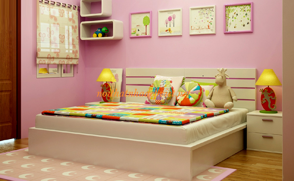 Giường Ngủ Gỗ đẹp Hiện đại Tại Hà Nội GN05
