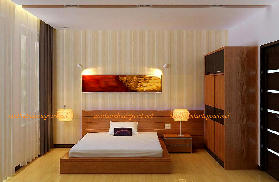 Mẫu Giường Ngủ Gỗ đẹp Hiện đại Tại Hà Nội GN11