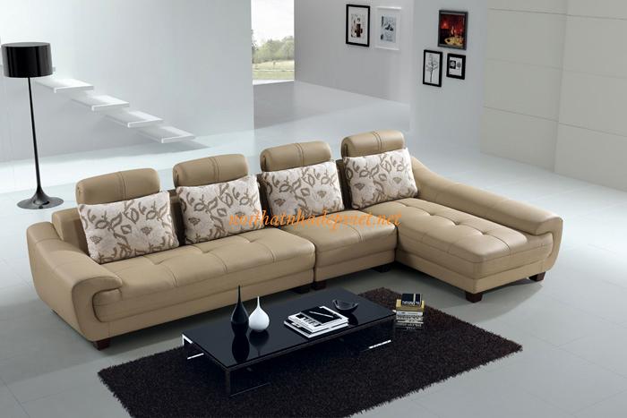 Mẫu Sofa Da Cao Cấp Phòng Phòng Khách SFD12