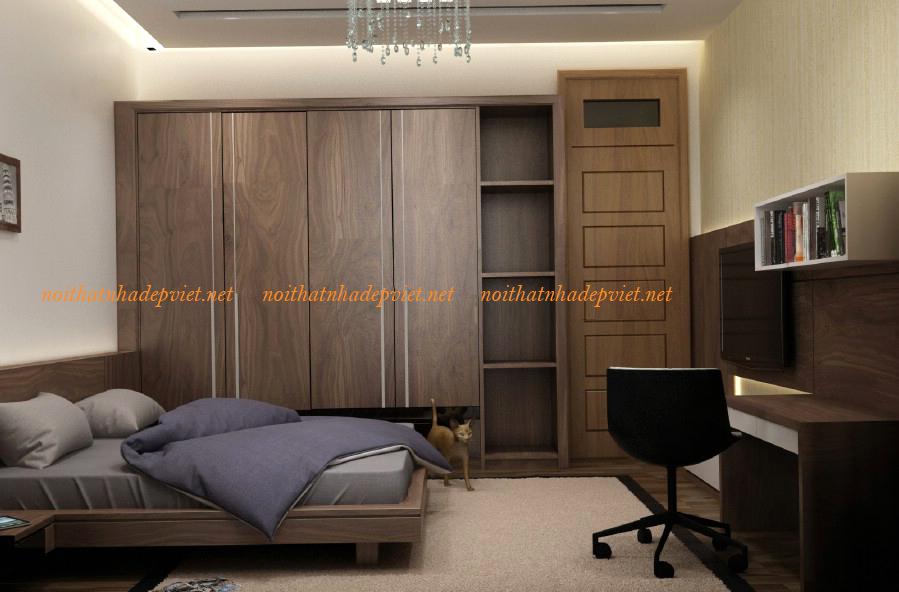 Tủ áo Hiện đại Sang Trọng TA08