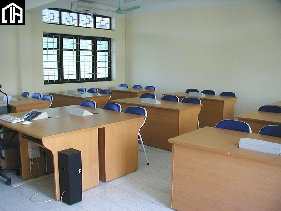 Bộ Bàn Ghế Gỗ Phòng Thực Hành BLV01