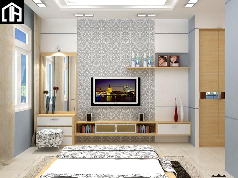 Hệ Kệ Tivi Kết Hợp Bàn Phấn đẹp Phòng Ngủ KTV12