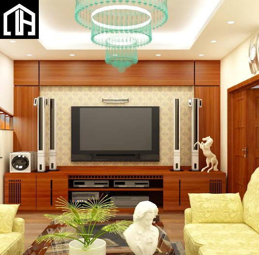Mẫu Kệ Tivi đẹp Cho Phòng Khách Có Không Gian Rộng KTV13