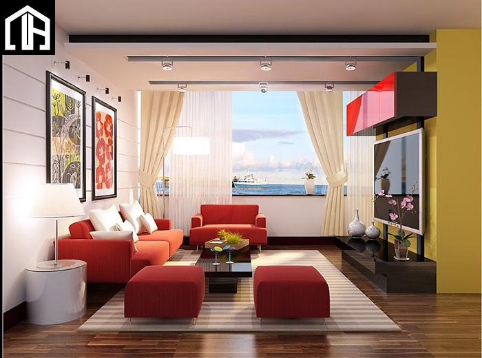 Bộ Bàn Ghế Sofa Phòng Khách đẹp Trẻ Trung SF15
