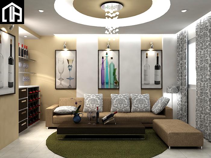 Ghế Sofa Vải Phòng Khách đẹp SF17