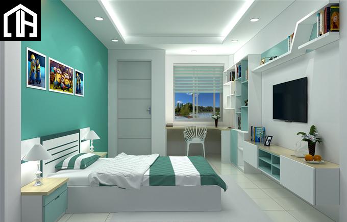 Nội Thất Phòng Ngủ đẹp Cho Con Trai PNBT14