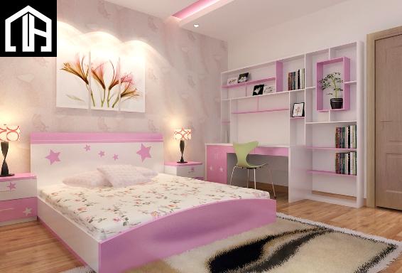 Nội Thất Phòng Ngủ Bé Gái PNBG11