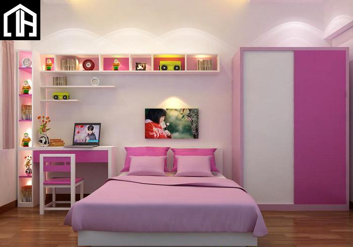 Thiết Kế Và Báo Giá Phòng Ngủ đẹp Cho Bé PNBG02
